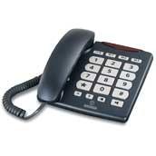 brondi bravo 10 ældrevenlig fastnet telefon