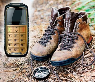 Kanso M300 hårdfør mobil til ældre