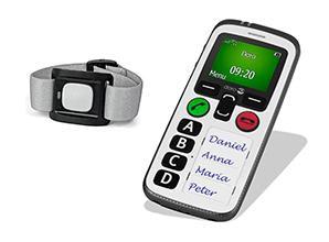 doro mobil telefon med nødkald til ældre