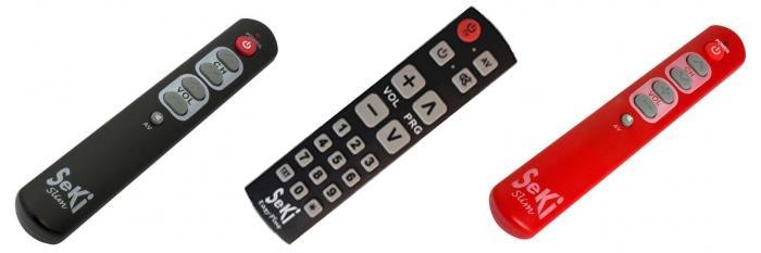 Universal fjernbetjeninger til ældre