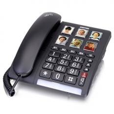 Fastnet telefoner fra Switel til ældre svagtseende