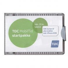 nemt og enkelt taletidskort tdc