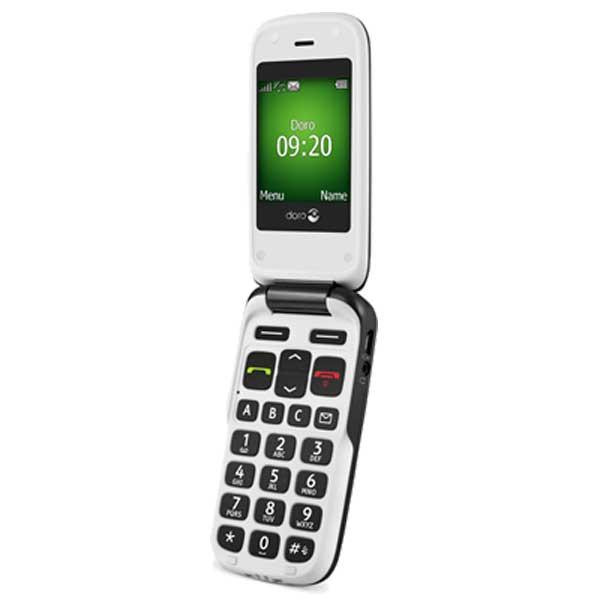 Doro 610 mobiltelefon til hørehæmmede nedsat hørelse
