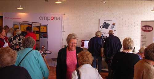 Mange besøgende på ældremesse i Gribskov
