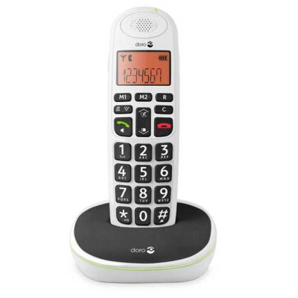Doro PhoneEasy 100w trådløs telefon i hvid