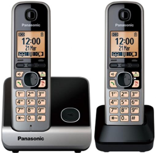 Panasonic KX-TG6712 med 2 håndsæt
