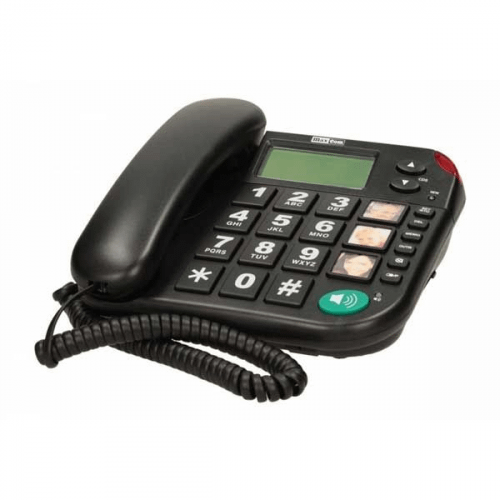 Maxcom KXT480 fastnettelefon Sort