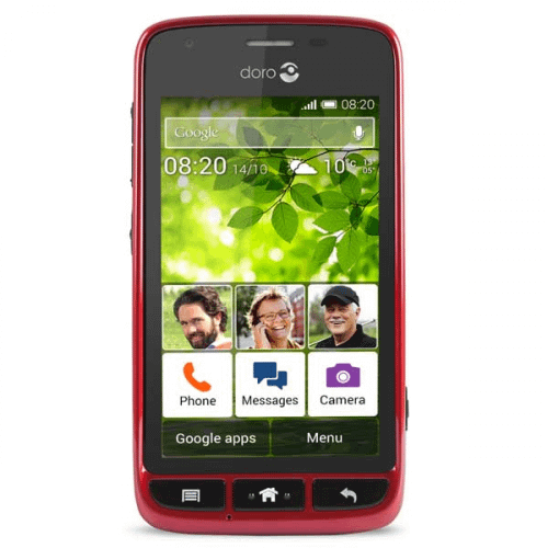 Doro 820 Mini - Doro Liberto 820 Mini rød/sort