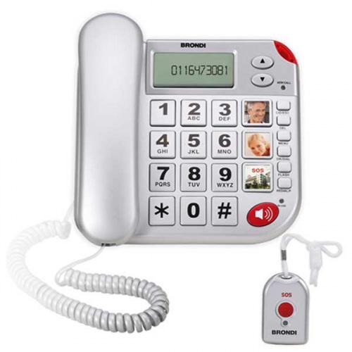Super Bravo Plus, fastnettelefon med nødkald