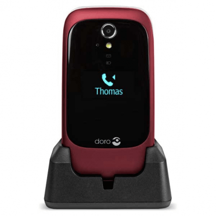 Doro 6531 3G rød/hvid