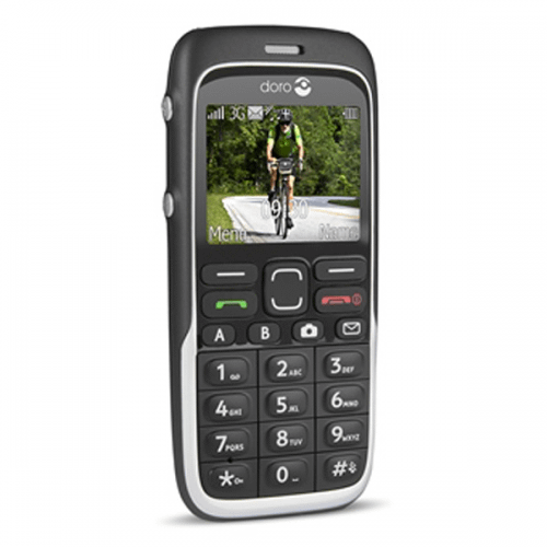 Doro 520 - Doro PhoneEasy 520x sort