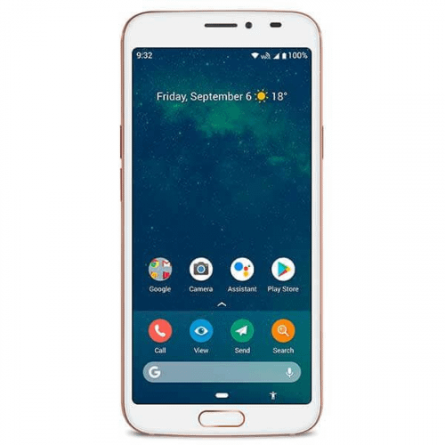 Doro 8080 smartphone Hvid
