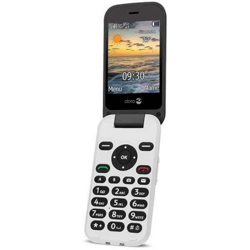 Doro 6621 Klaptelefon - Sort