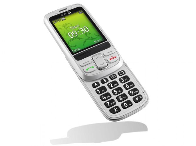 Doro 715 - Doro PhoneEasy 715 hvid