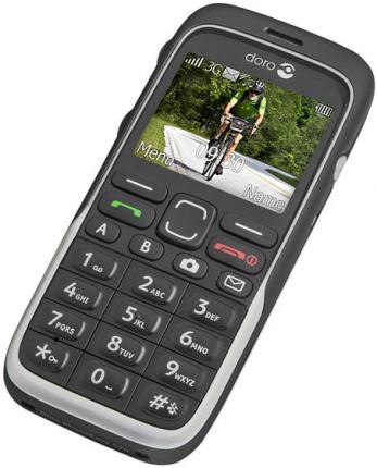 Doro 520 - Doro PhoneEasy 520x sort DEMO