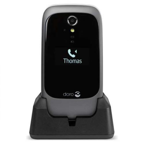 Doro 6531 3G sort/hvid