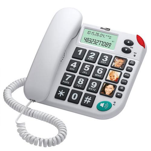 Maxcom KXT480 fastnettelefon Hvid