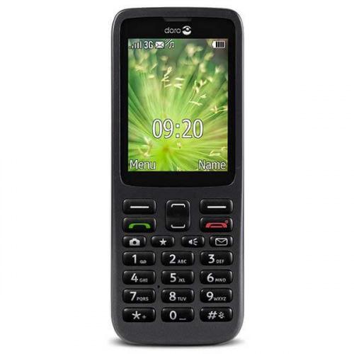 Doro 5517 mobiltelefon - Sort