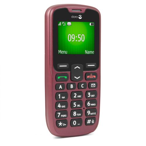 Doro 507  - Doro PhoneEasy 507 rødbrun