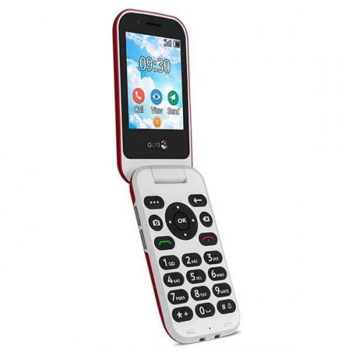 Doro 7031 4G klaptelefon rød