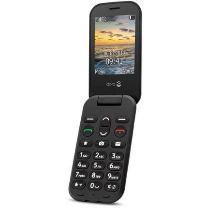 Doro 6041 Klaptelefon - Sort