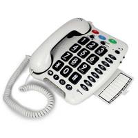 Fastnettelefon med store taster og høj lyd