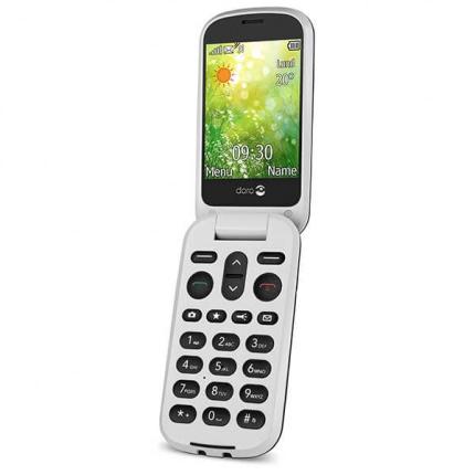 Doro 6051 klaptelefon sort