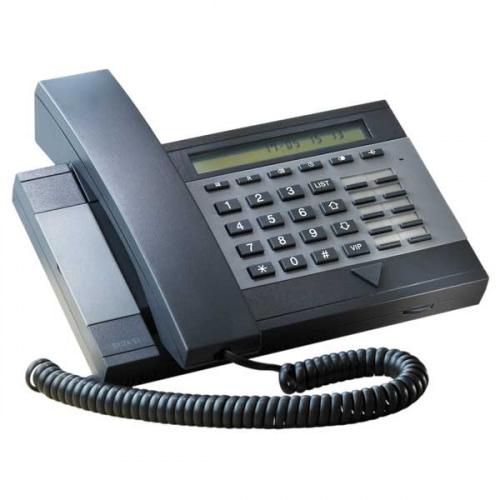 Kirk Delta S3 Plus forstærkertelefon, Antrasit/skifergrå
