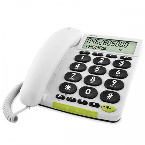Doro PhoneEasy 312cs fastnettelefon DEMO