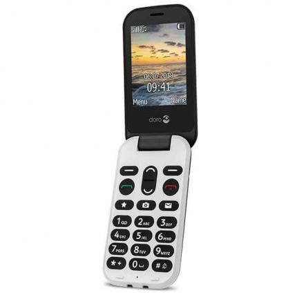 Doro 6061 Klaptelefon - Sort