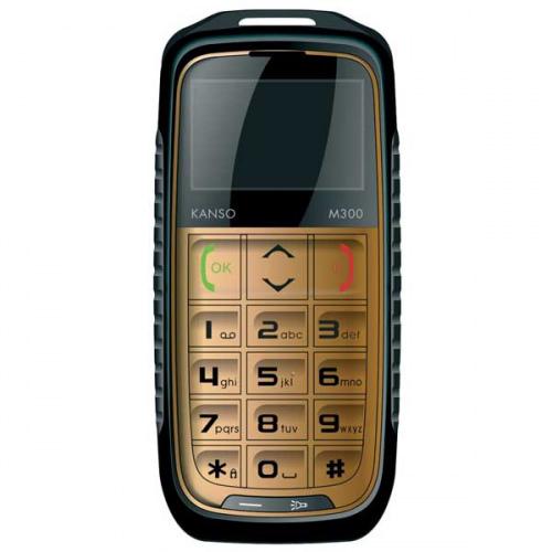 Kanso M300 - en robust mobiltelefon