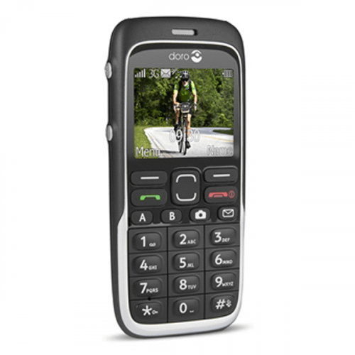 Doro 520 - Doro PhoneEasy 520x sort