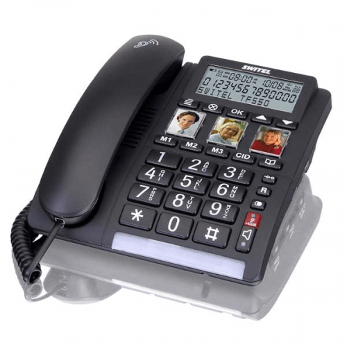 SWITEL Comfort TF 550 Fastnettelefon DEMO