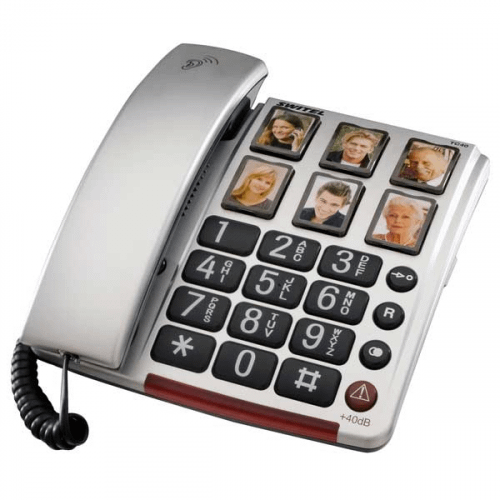SWITEL BIG FOTO TC 40 Fastnettelefon