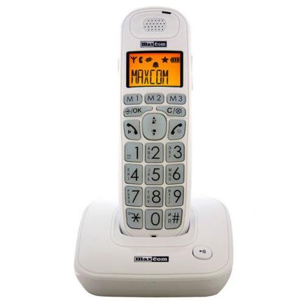 Maxcom MC6800 trådløs fastnettelefon hvid