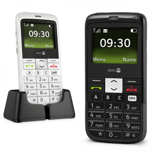 Doro 332 - Doro PhoneEasy 332gsm i sort