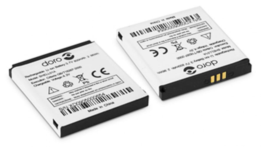 Batteri til Doro PhoneEasy 509 og 530x
